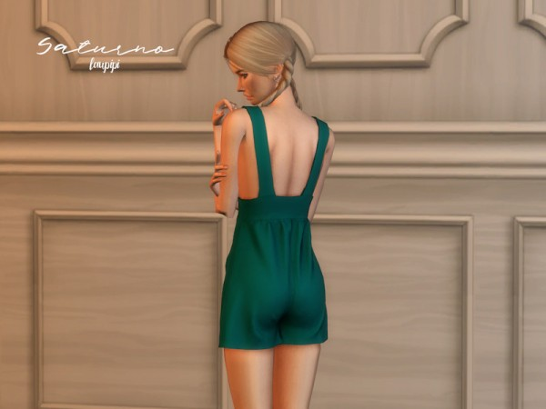 The Sims Resource: Saturno Romper by laupipi