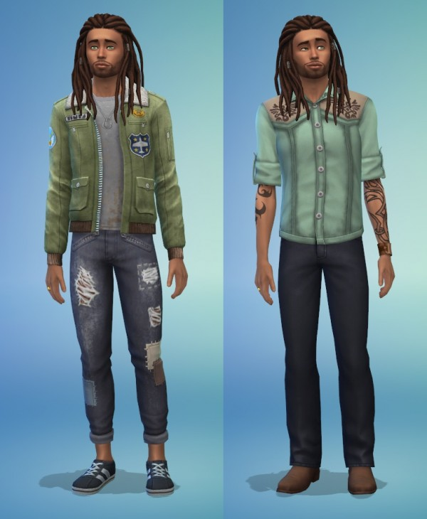 Sims Artists: Walker Familiy