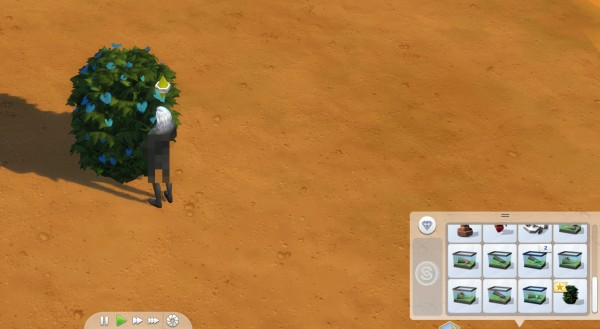 Mod The Sims: The Movabush  The portable potty bush! by OphidiaSnaketongue