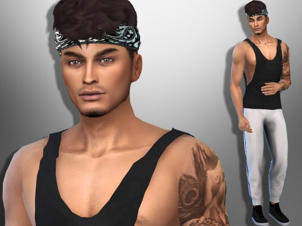 The Sims Resource: Ian Lima by divaka45