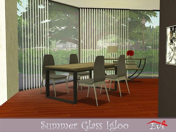The Sims Resource: Summer Glass Igloo by evi