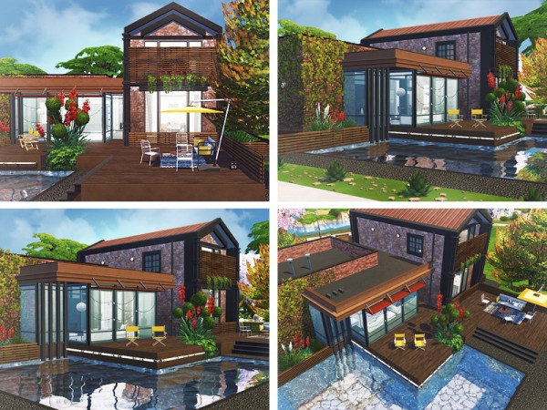 The Sims Resource: Moss House by Rirann