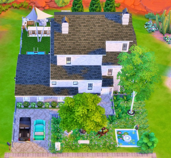 Mod The Sims: Three Story House by heikeg