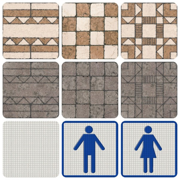 Mod The Sims: The Ultimate Tile Collection by simsi45