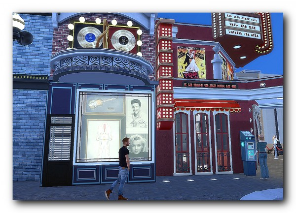 Architectural tricks from Dalila: YORD street cinema,cafe
