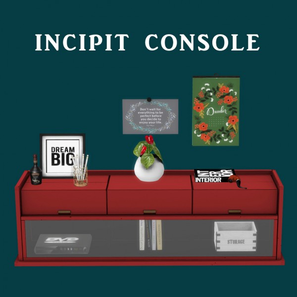 Leo 4 Sims: Incipit Console