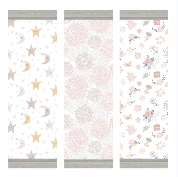 Blooming Rosy: Itsy Bitsy Baby walls