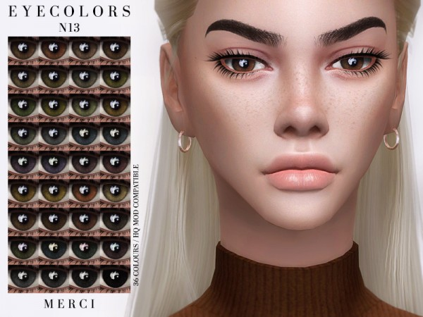 The Sims Resource: Eyecolors N13 by Merci