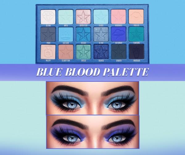 Kenzar Sims: Jefree star Blue Blood Palette