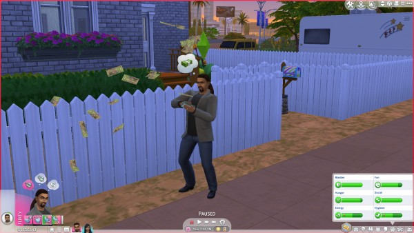 Mod The Sims: Win The Lottery by Anonymouse85