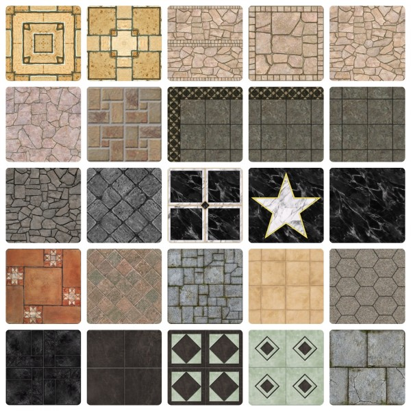 Mod The Sims: The ULTIMATE Stone Collection by simsi45