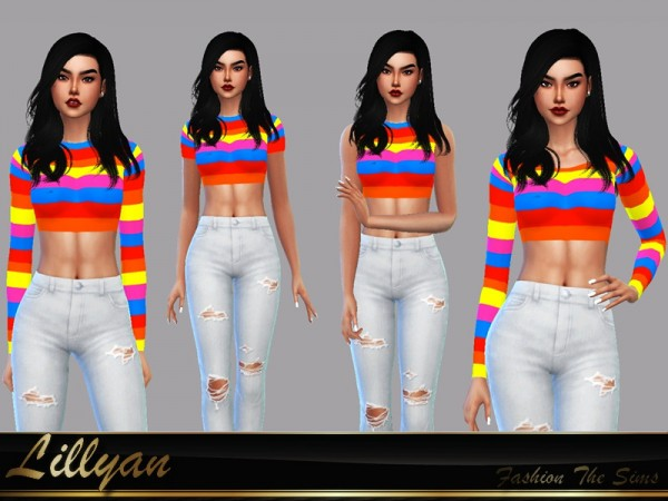 The Sims Resource: Top Jullya by LYLLYAN