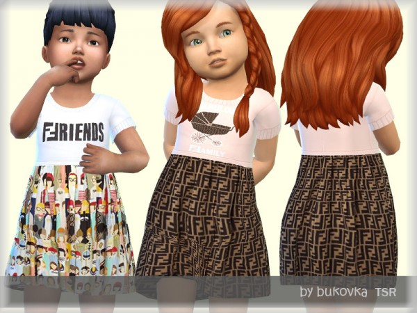 The Sims Resource: Dress Fe by bukovka