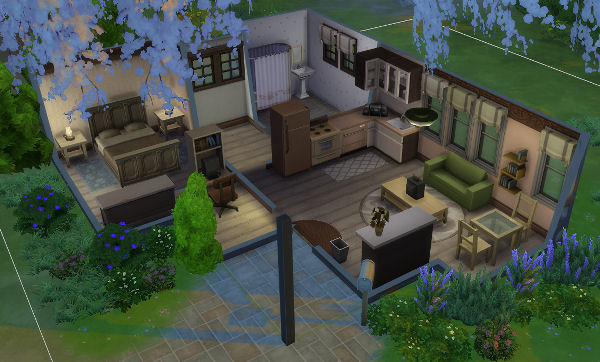 Blackys Sims 4 Zoo: In the middle of nowhere house part 2 by ladyatir