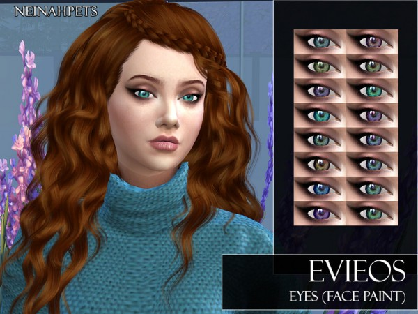 The Sims Resource: Evieos Eyes by neinahpets