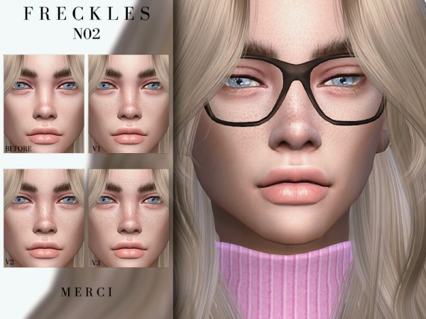 The Sims Resource: Freckles N02 by Merci