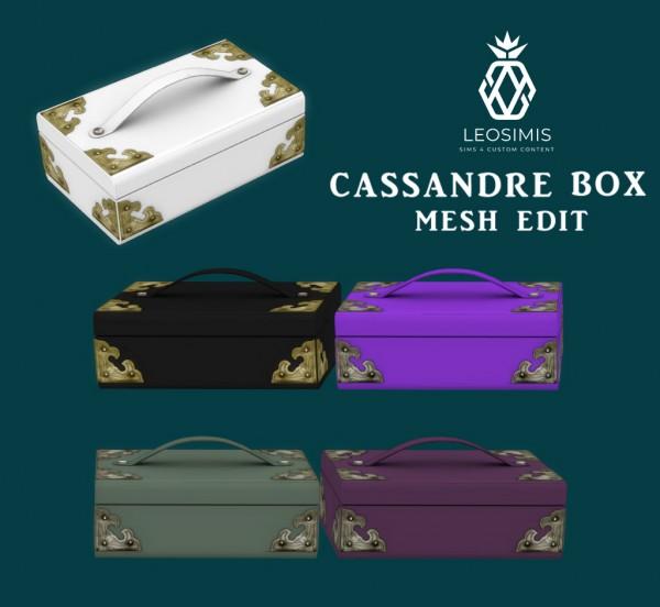 Leo 4 Sims: Cassandre Box