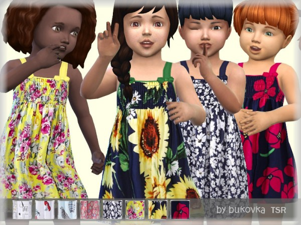 The Sims Resource: Sundress by bukovka
