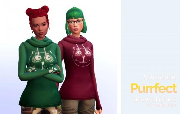 Joliebean: Purrfect  hoodie