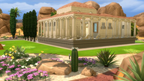 Mod The Sims: Thermae Diaroritum by valbreizh