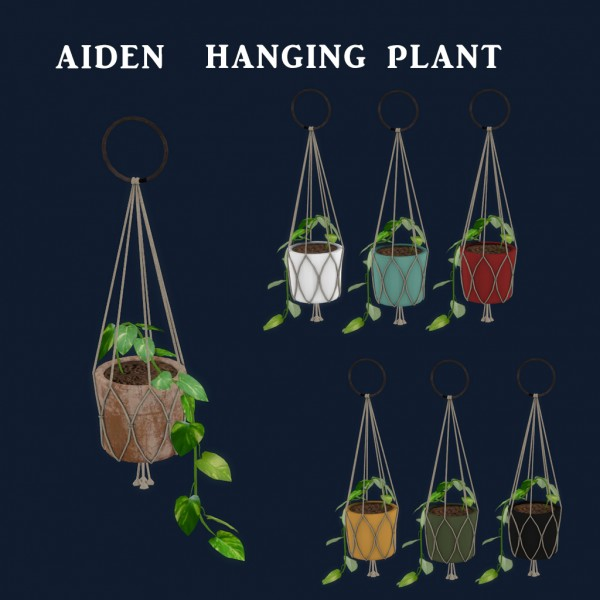 Leo 4 Sims: Aiden Hanging Plant