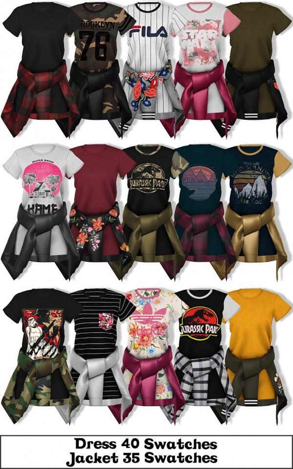 LumySims: Harper Dress