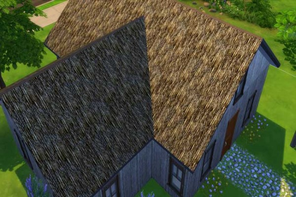 Blackys Sims 4 Zoo: Various Roof Textures by sylvia60