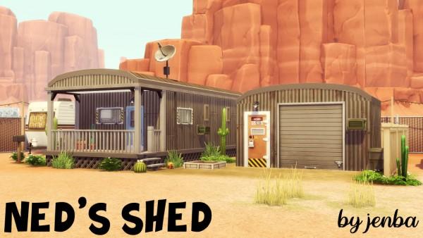 Jenba Sims: Ned's Shed