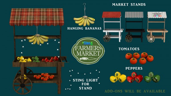 Leo 4 Sims: Farmers Market