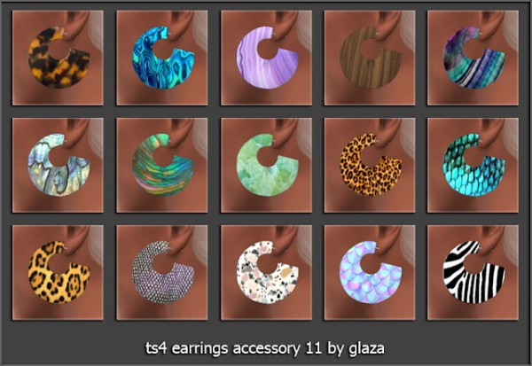 All by Glaza: Earrings accessory 11