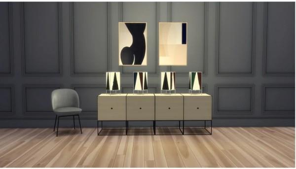 Meinkatz Creations: B4 Table Lamp