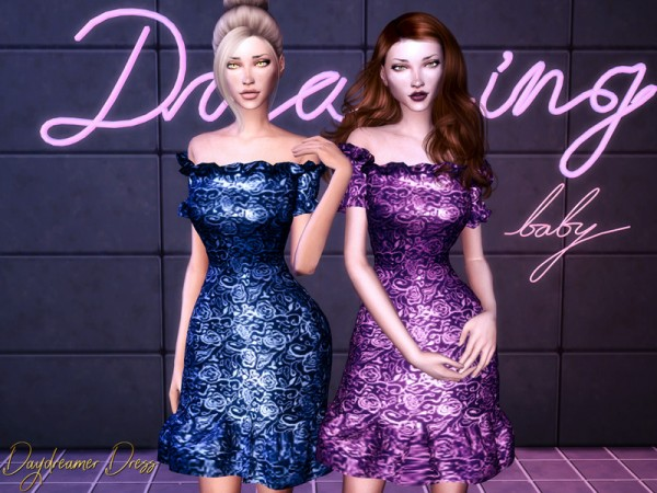 The Sims Resource: Daydreamer Dress by Genius666