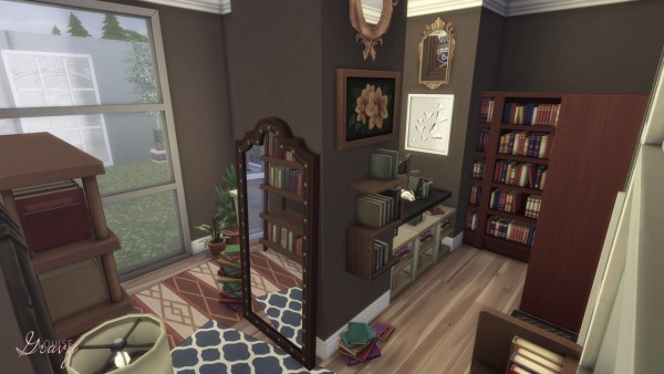 Gravy Sims: Shopping Center Collab   The Book Store