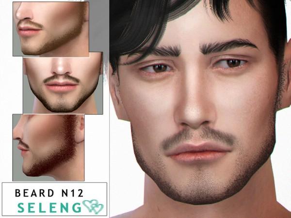 The Sims Resource: Beard N12 by Seleng