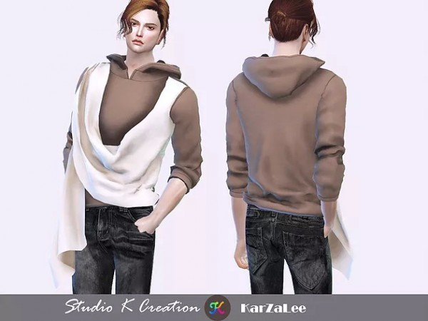 Studio K Creation: OF76 layered top