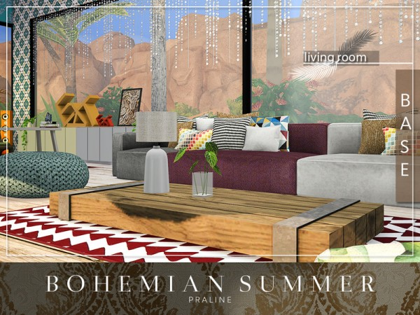 The Sims Resource: Bohemian Summer by Pralinesims