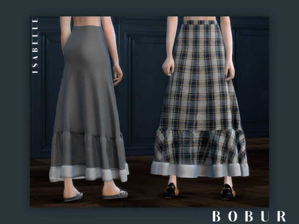 The Sims Resource: Isabelle boho skirt by Bobur3