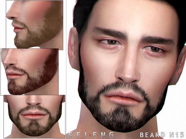 The Sims Resource: Beard N15 by Seleng