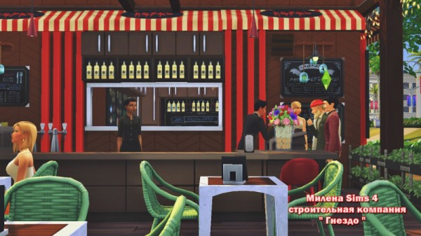 Sims 3 by Mulena: Restaurant Ward