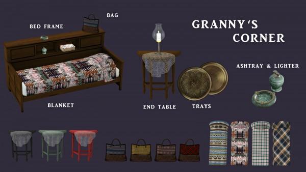 Leo 4 Sims: Granny's Corner
