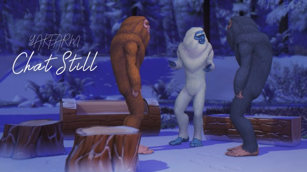 Mod The Sims: Chat Still by yakfarm