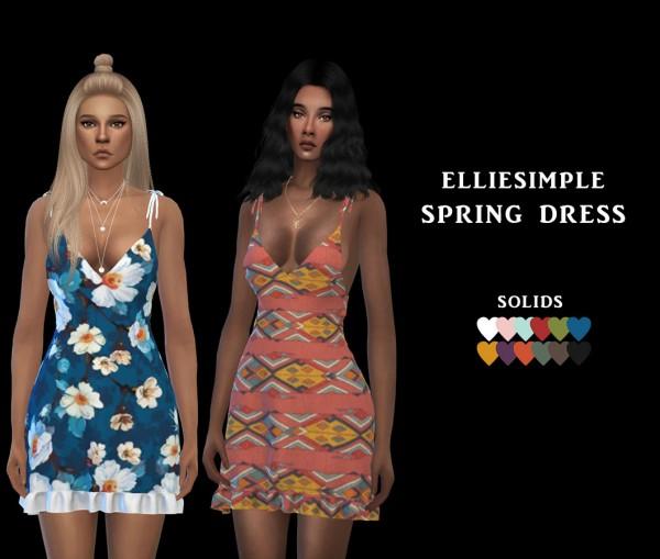 Leo 4 Sims: Spring Dress