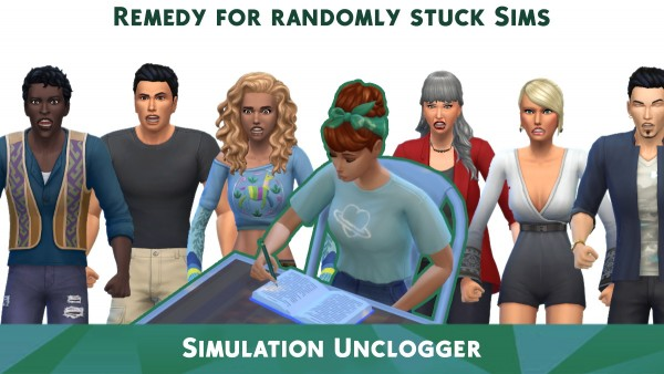 Mod The Sims: Simulation Unclogger by TURBODRIVER