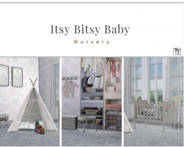 Blooming Rosy: Itsy Bitsy Baby Nursery