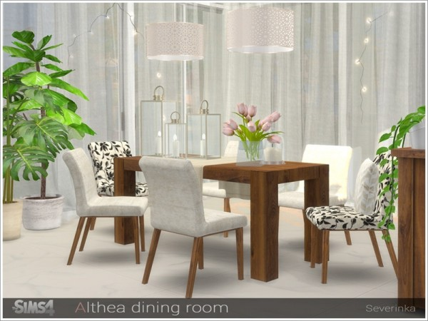 The Sims Resource: Althea dining room by Severinka