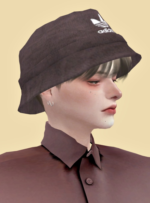 Lemon Corduroy Bucket Hat Sims 4 Downloads