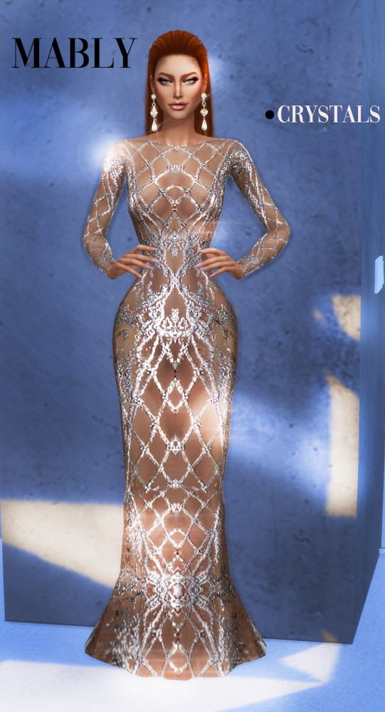 Mably Store: Crystals Dress