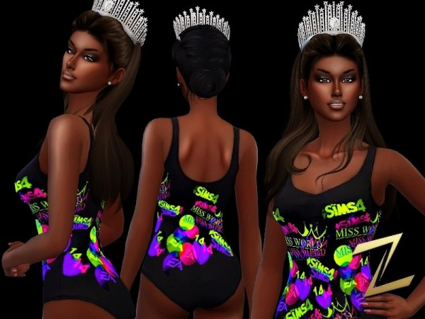 The Sims Resource: Miss World S14 by ZitaRossouw