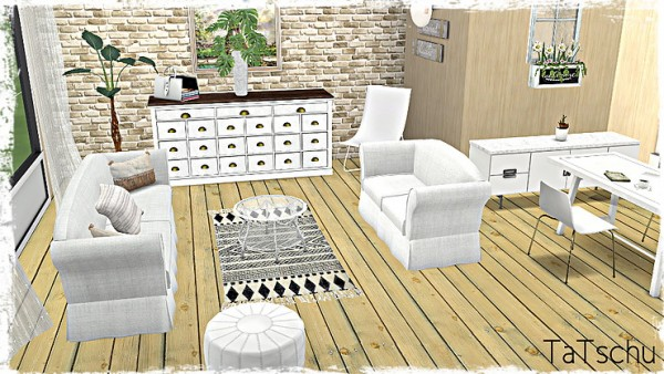 Blooming Rosy: Wood Floor Collection Part1