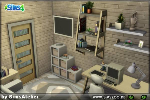 Blackys Sims 4 Zoo: Freelance Artists StarterHouse by SimsAtelier